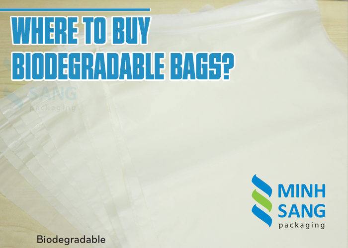 Where to buy biodegradable bags?