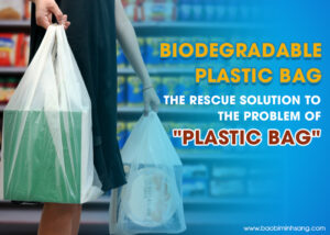 Plastic bags and immeasurable consequences when discharged into the environment
