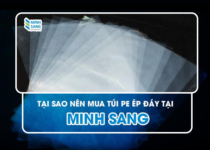 Tại sao nên mua túi PE ép đáy tại Minh Sang?