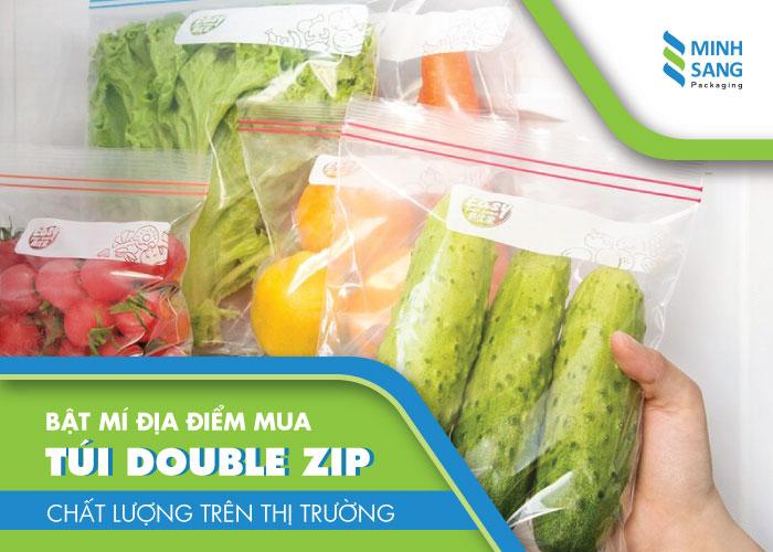 Bật mí địa điểm mua túi double zip chất lượng trên thị trường