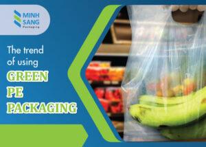 green pe packaging