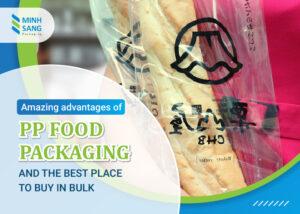 PP food packaging